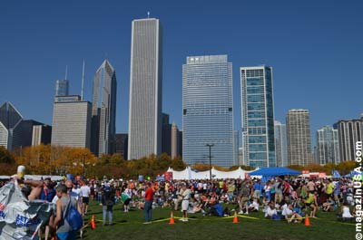 Chicago Marathon 2011: After-Run Party im Millennium Park