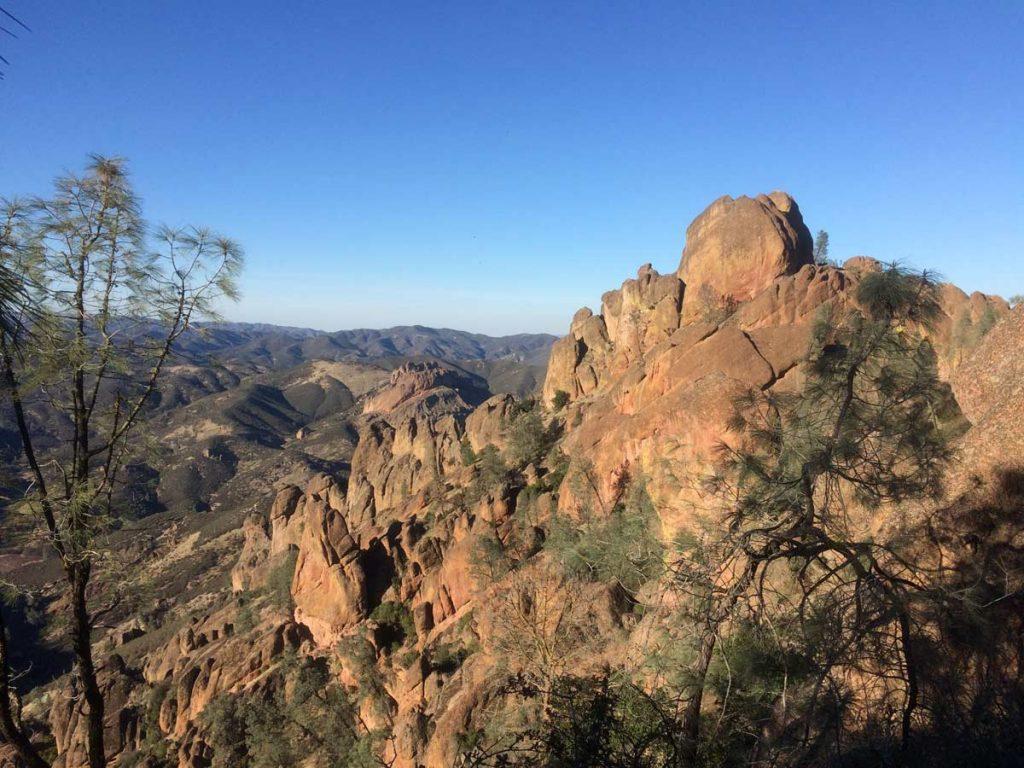 Pinnacles Nationalpark / Blick auf die High Peaks (Photo NPS/Beth Hudick)