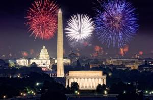 Washington DC Feuerwerk