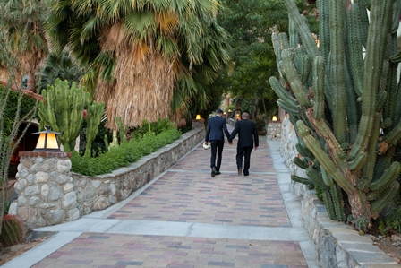 Schwulen- und Lesben Heiraten in Palm Springs, Kalifornien - photos by Lani