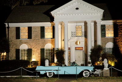 Elvis Villa in Graceland, Memphis