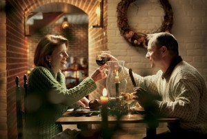 Foto: Dining at Shields Tavern during Holidays - Quelle: Colonial Williamsburg Foundation