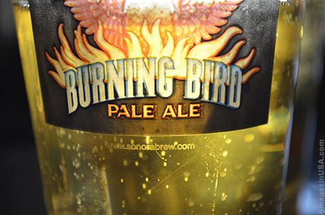 Burning Bird Pale Ale, Sonoran Brewing Company