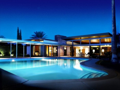 Haus von Frank Sinatra. Photo: Palm Springs Bureau of Tourism