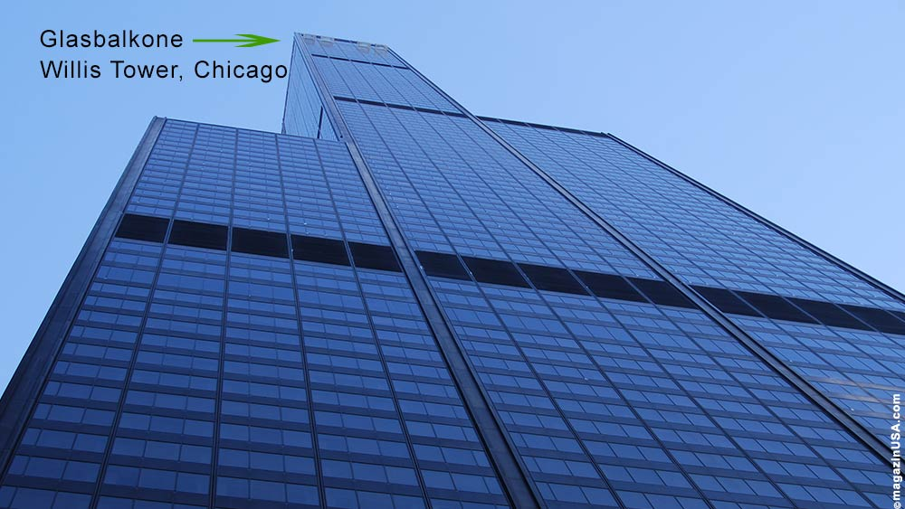 Willis Tower Glasbalkone