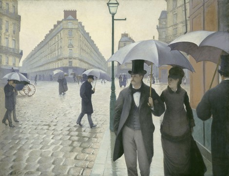 Gustave Caillebotte - Paris Street Rainy Day_1877 - Foto Art Institute of Chicago