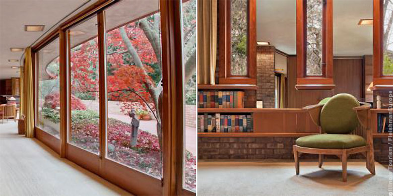 Frank Lloyd Wright Museum -- Laurent House, Rockford, Illinois