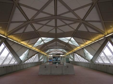 Die Silver Line Stationen von innen (credit Dulles Metro)