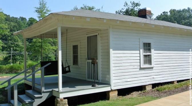 Elvis' Geburtshaus in Tupelo, Mississippi