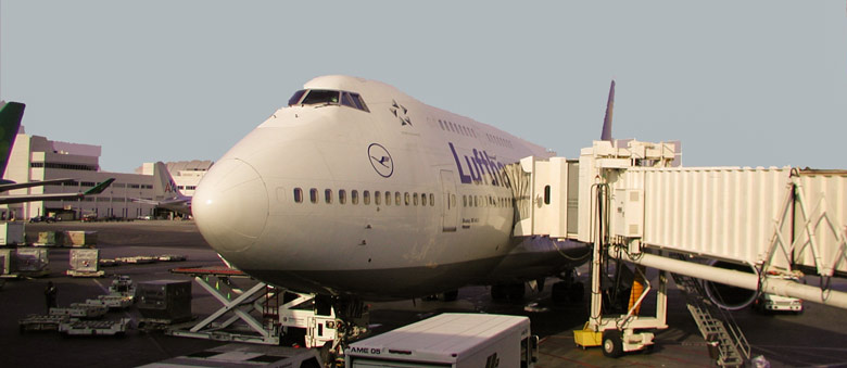 Lufthansa at gate