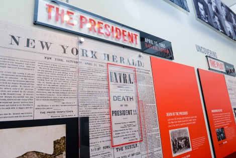 Newseum Lincoln Exhibit (Foto copyright Derek Reynolds)