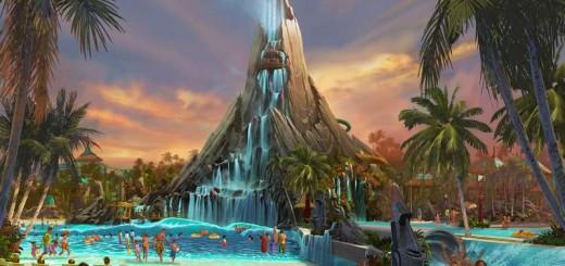 Universal's Volcano Bay Rendering (Universal Orlando)