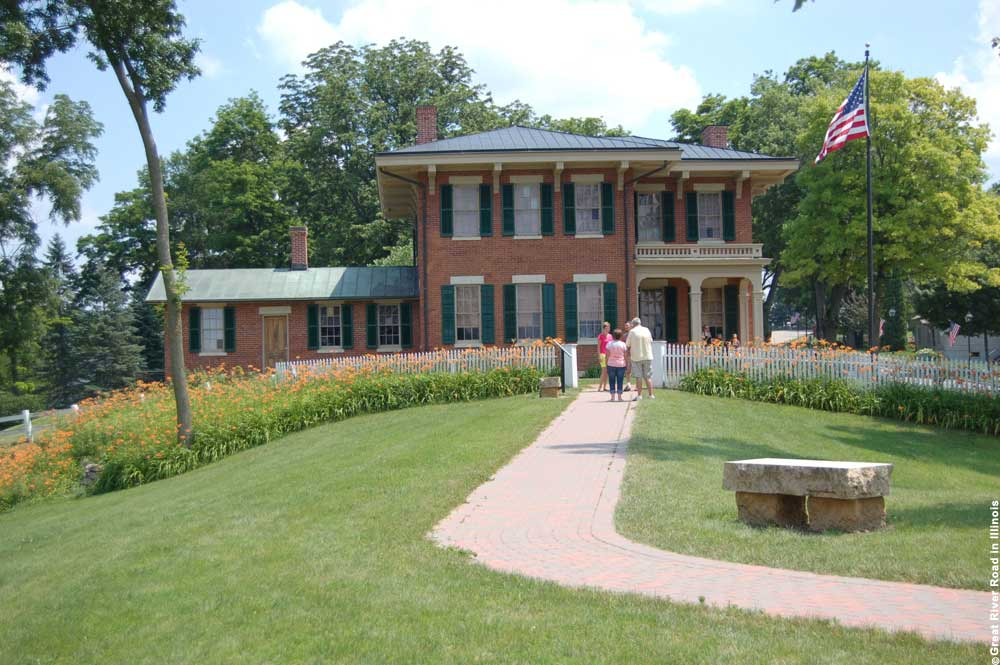 Great-River-Road in Illinois, Galena, Ulysses S. Grant Home