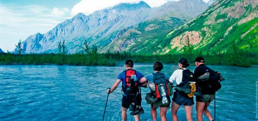 Wandern am Eagle River