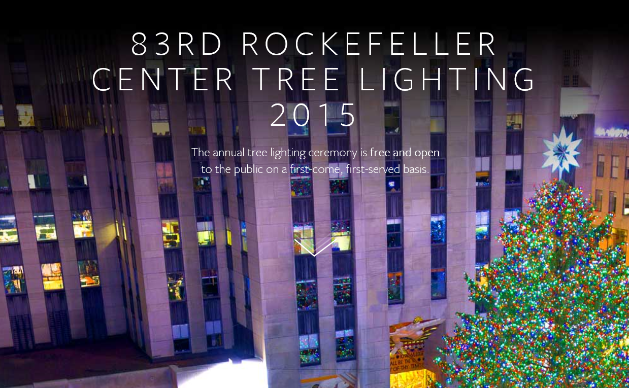 Rockefeller Center (Website rockefellercenter.com)