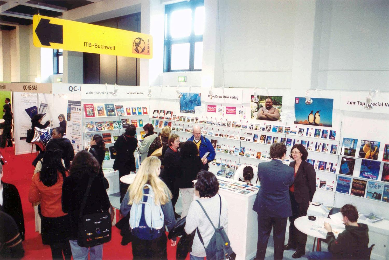 ITB-Berlin wird 50 Jahre. Bild: ITB-Buchwelt im Jahre 2003. Quelle: ITB