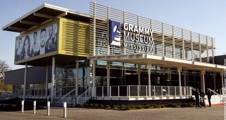 Neues GRAMMY-Museum eröffnet nahe von Memphis und Natchez
