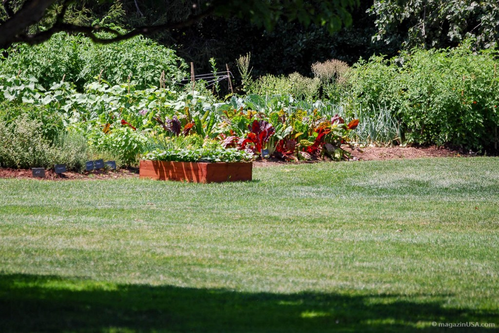 Michelle Obama's Garten im White House
