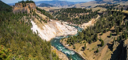 Yellowstone Nationalpark, Wyoming