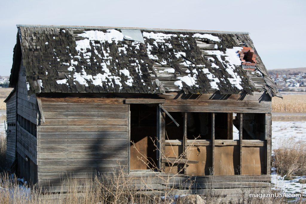 Amerika's Westen - verlassene Häuser