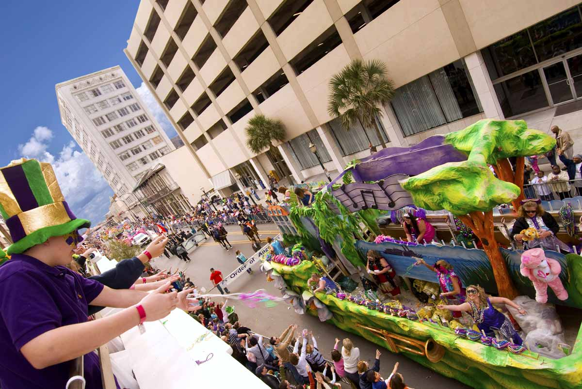 Mardi Gras Parade in Mobile, Alabama (Foto: Alabama Tourism, Berlin, alabama-usa.de)