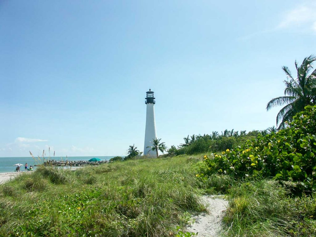 Bill Baggs State Park und Lighthouse (Key Biscayne bei Miami)