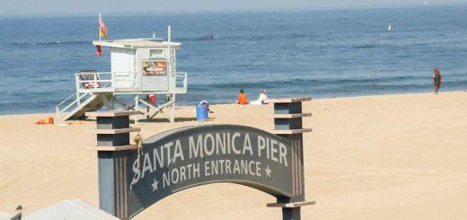Santa Monica Pier, Kalifornien