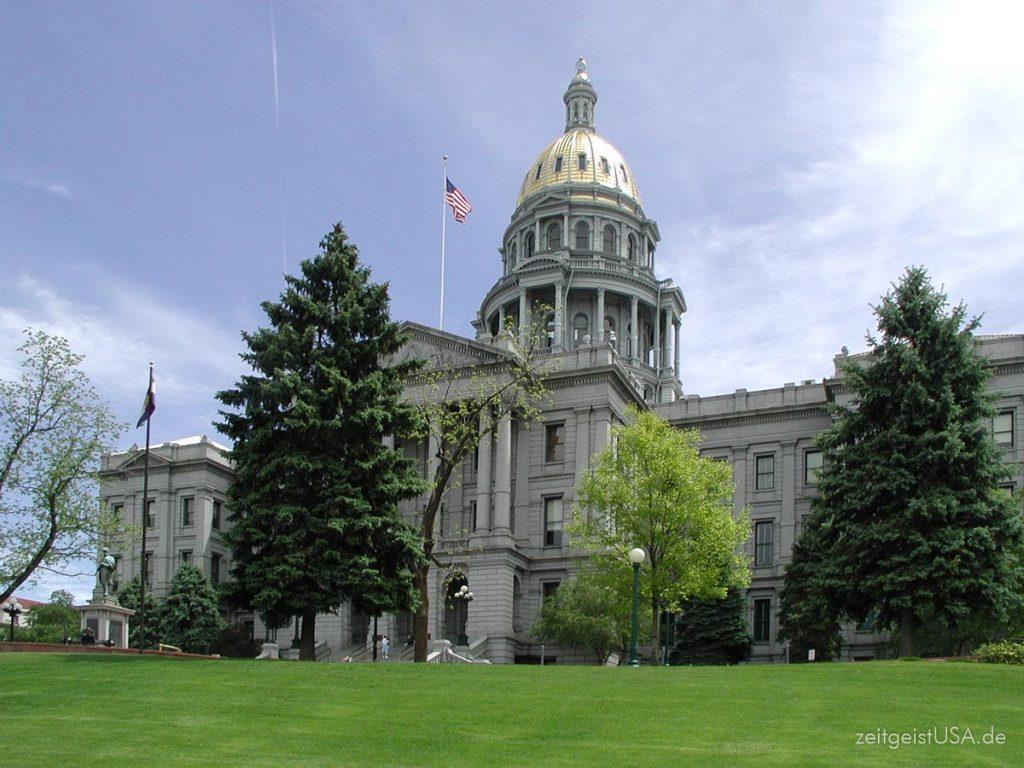 Das Kapitol in Denver, Colorado