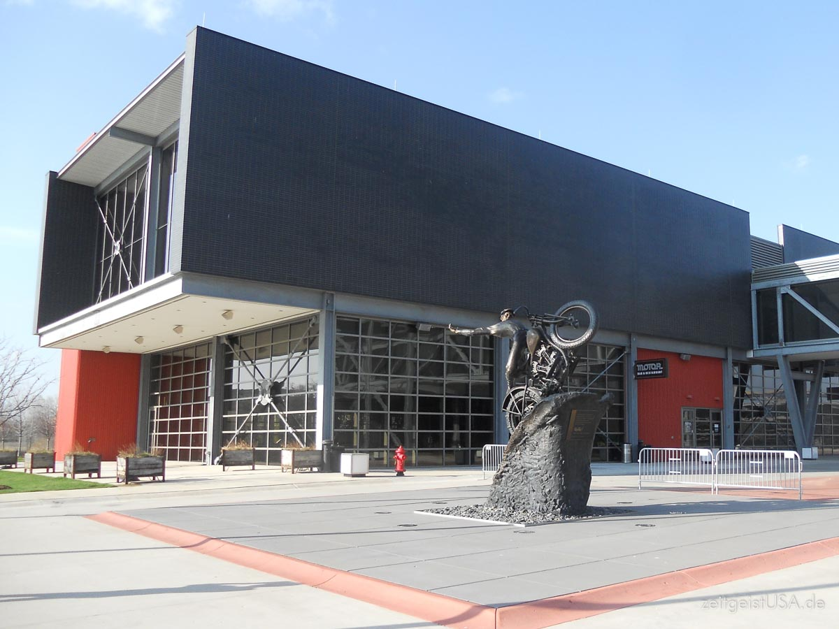 Harley-Davidson Museum in Milwaukee