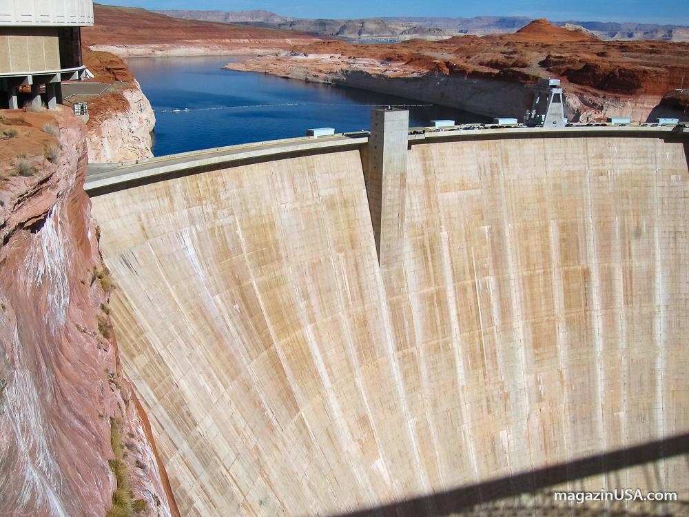 Lake Powell Staudamm, Page, Arizona