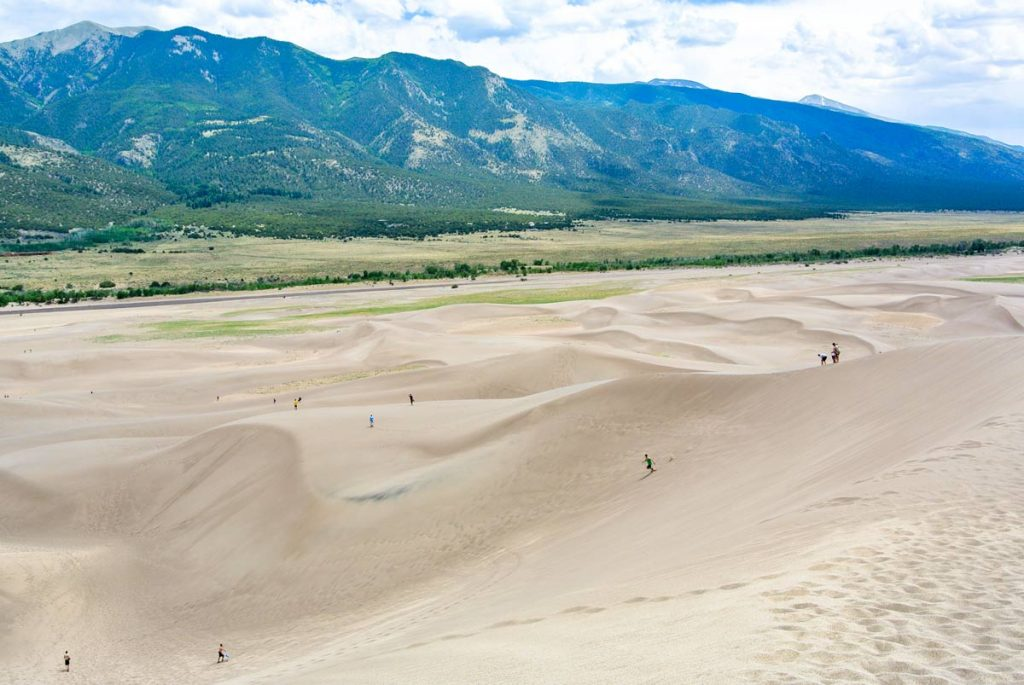 Great San Dunes Nationalpark, Colorado