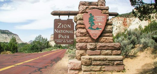 Zion Nationalpark in Utah