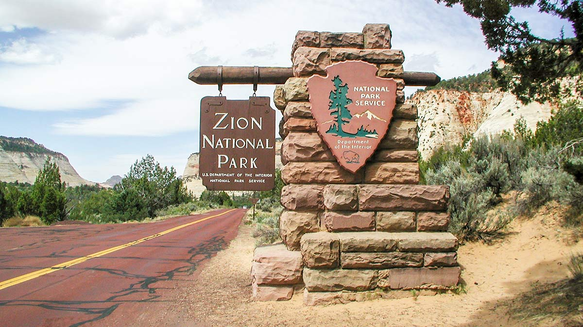 Zion Nationalpark in Utah