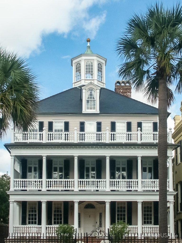 Herrenhäuser in Charleston, South Carolina