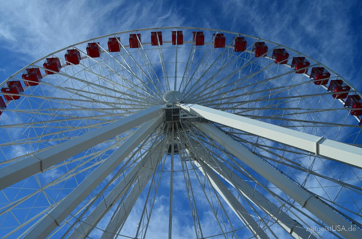 Ferris Wheel am Navy Pier