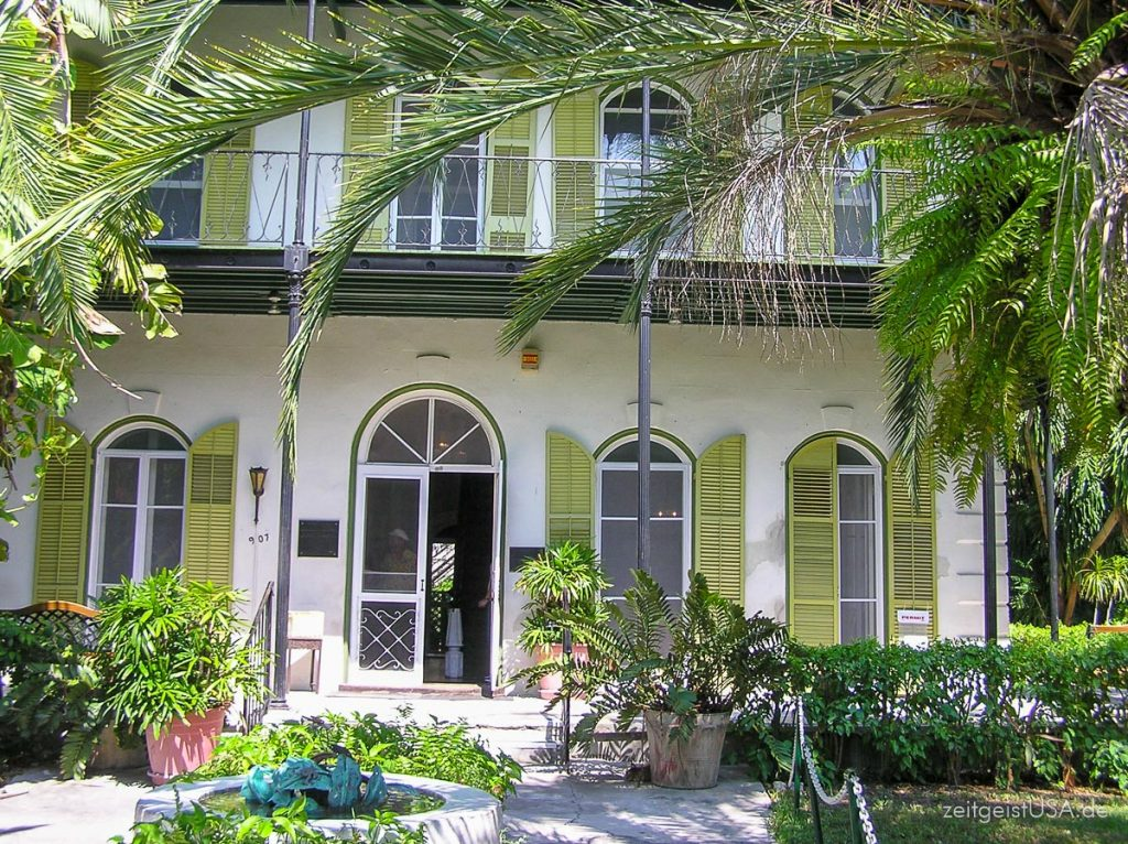 Hemingway-House in Key West