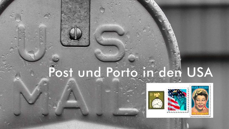 Post und Porto in USA — Tarife der U.S. Post