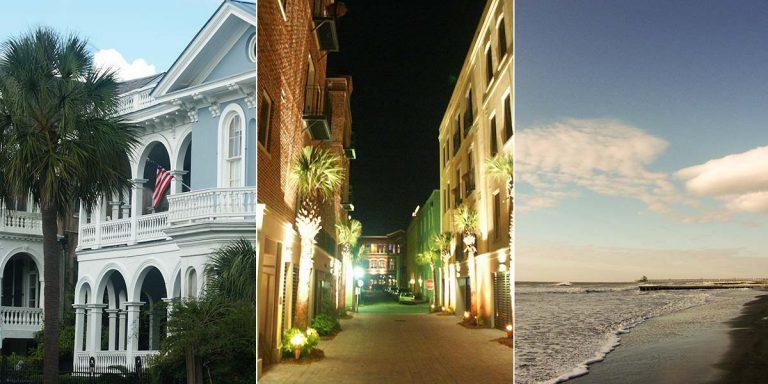 Charleston im Staat South Carolina