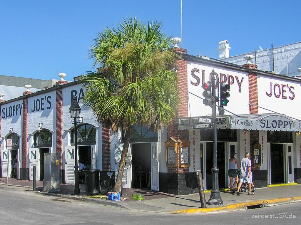 Sloppy Joe in Key West