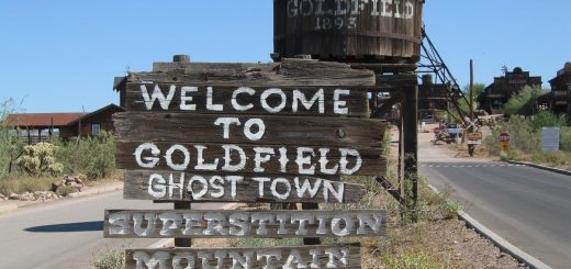 Goldfield Ghost Town -- Apache Trail, Arizona