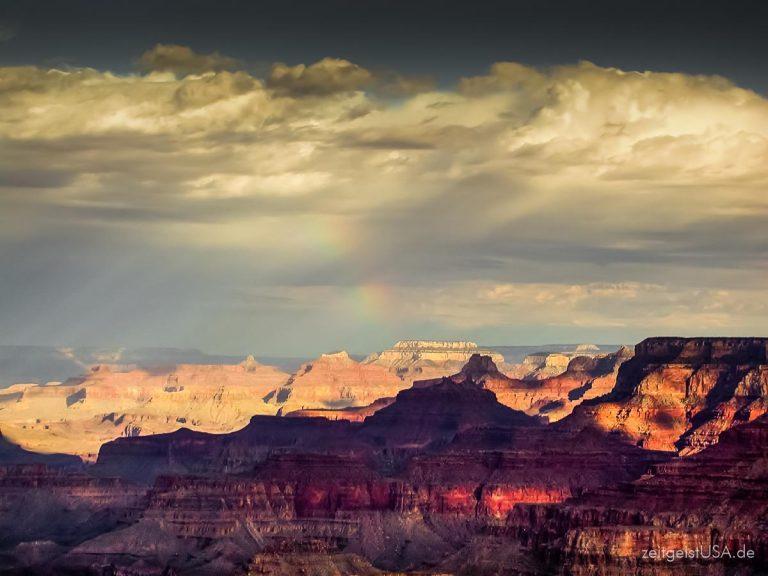 Grand Canyon Nationalpark in Arizona – einzigartige Landschaft und Ausblicke