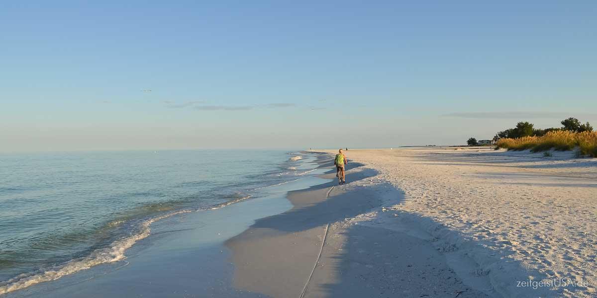 Strand auf Anna Maria Island, Florida