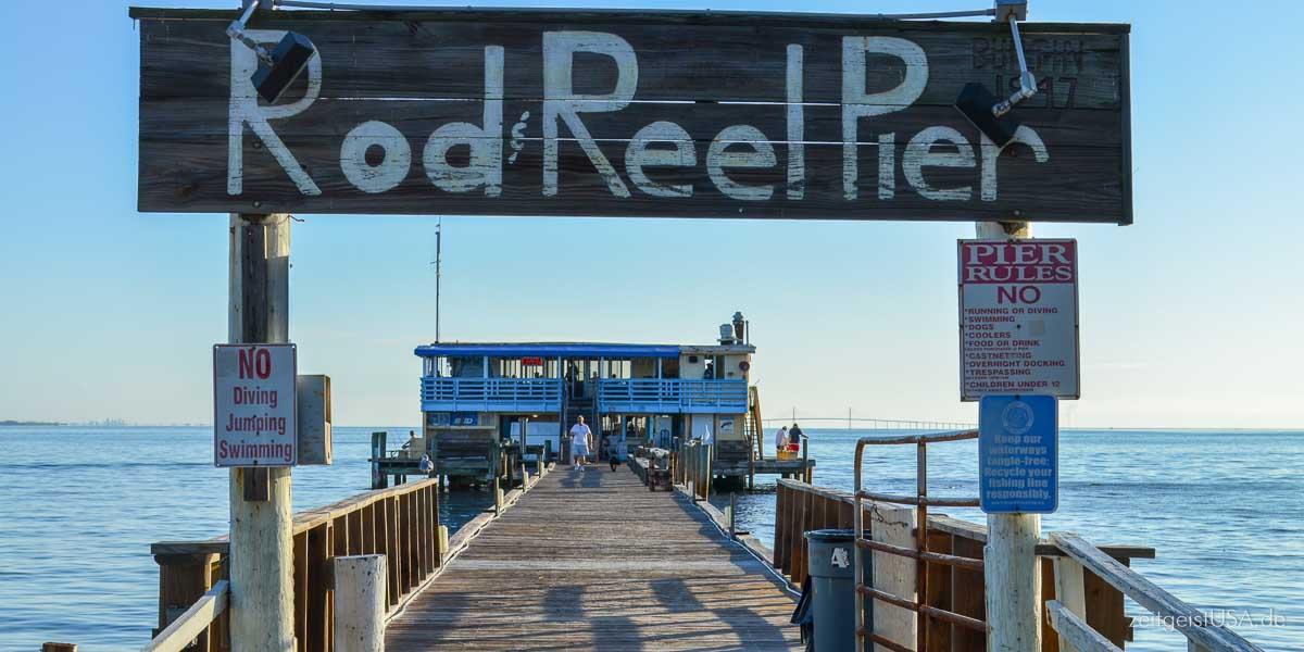 Rod & Reel Pier -- Anna Maria Island, Florida