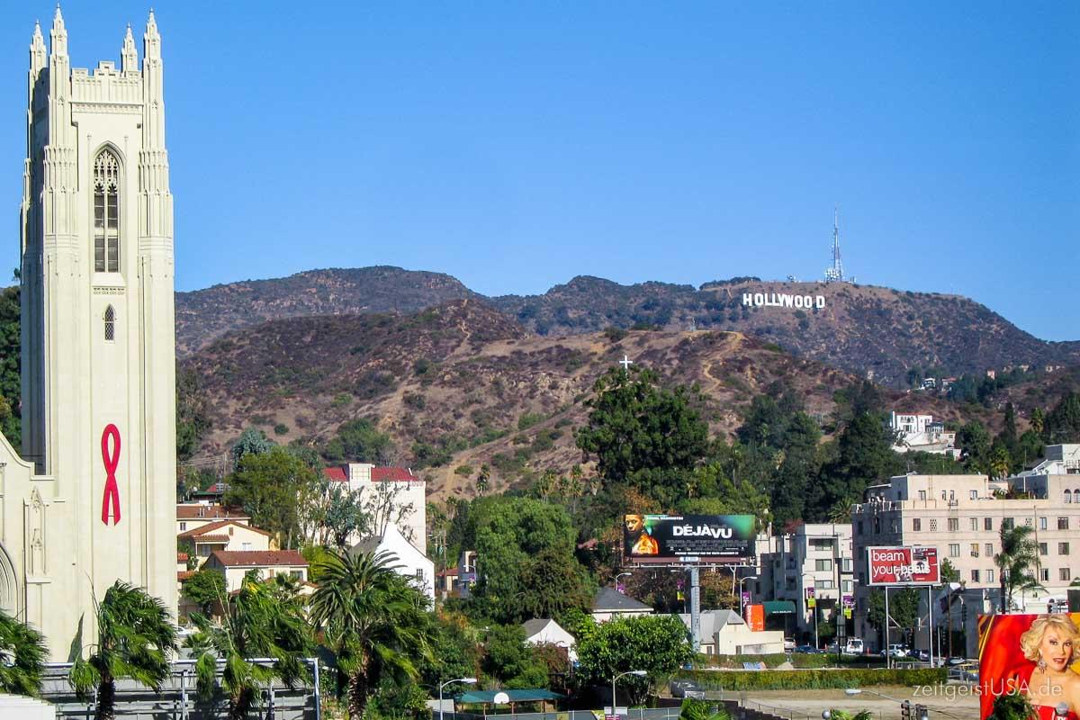 L.A. Hollywood Schriftzug