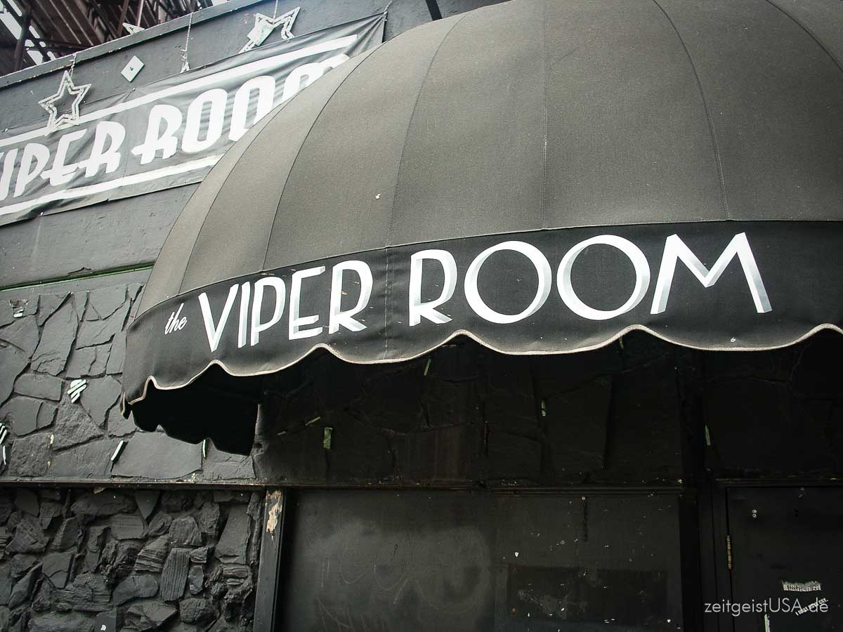 The Viper Room in Hollywood