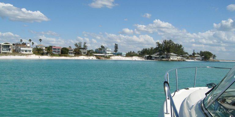 Anna Maria Island, Westküste Florida — verträumtes kleines Paradies
