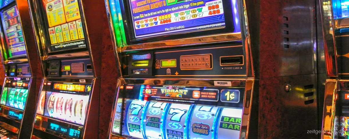 Spielautomaten in Las Vegas