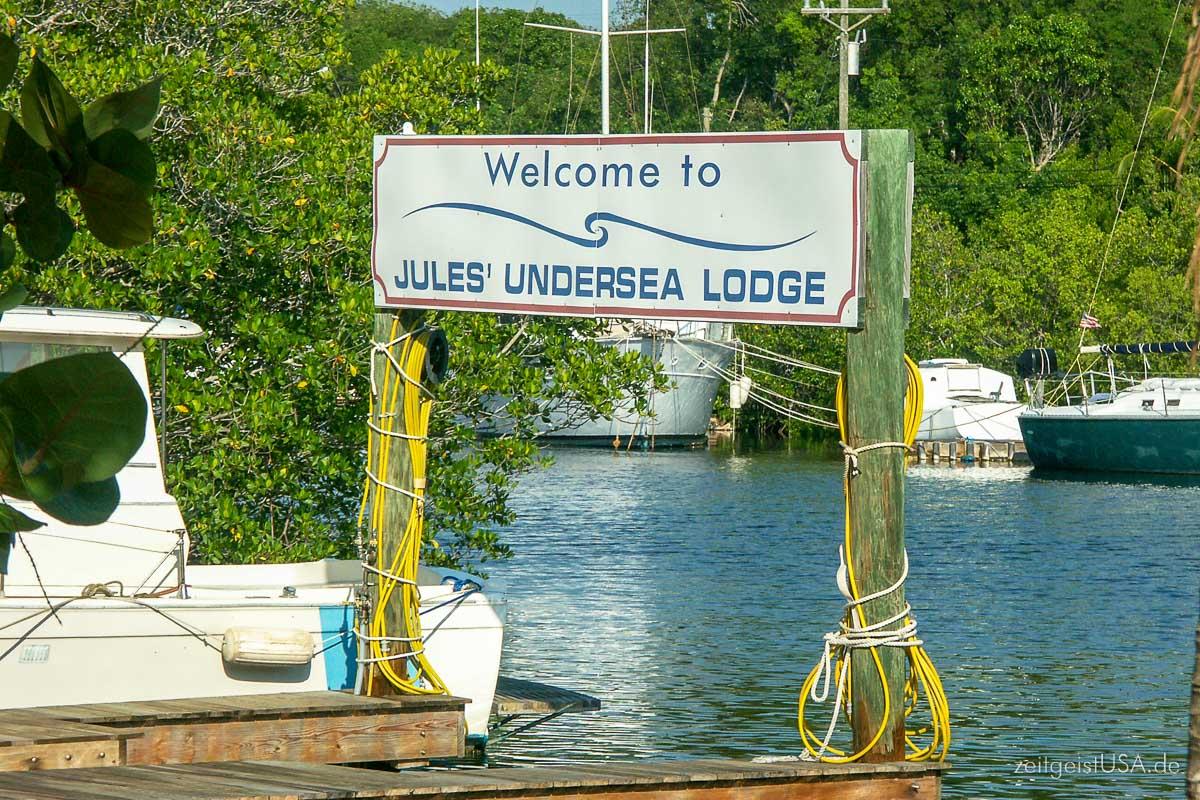 Key Largo -- eine Untersee Lodge