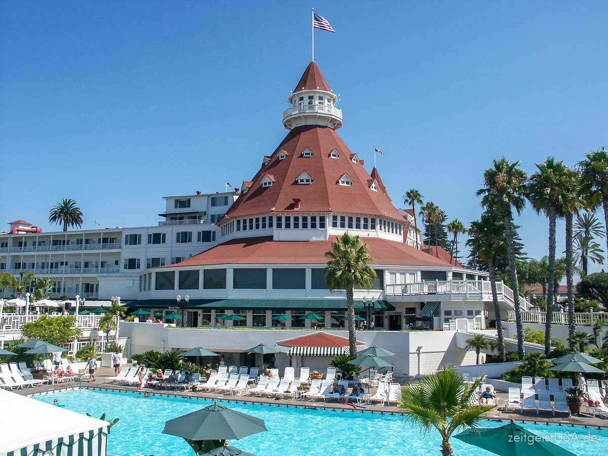 Hotel Coronado auf Coronado Island