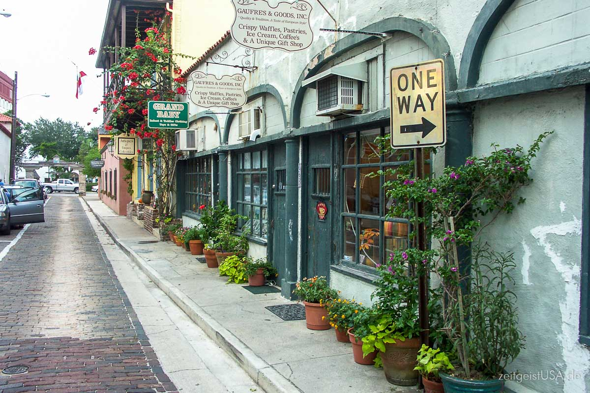 Old Town / Downtown St. Augustine, Florida